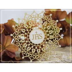Chipboard -First Communion Rosette