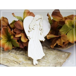 Chipboard - Layered angel - LARGE (2D)