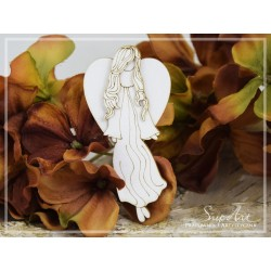 Chipboard - Layered angel -SMALL (2D)