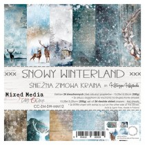 Scrapbooking Papers - SNOWY...