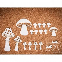 Chipboard -  Forest Camp -...