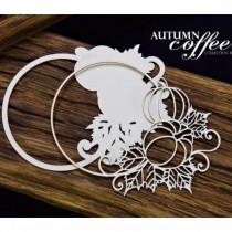 Chipboard - Autumn Coffee -...