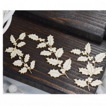 Chipboard - Holly Twigs 3pcs