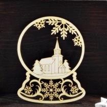 Chipboard - Christmas ball...