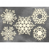 Chipboard - SNOWFLAKES 03