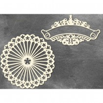 Chipboard - NAPKIN AND...
