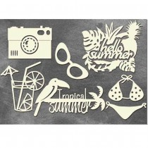 Chipboard - Tropical...