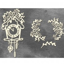 Chipboard  - CLOCK WITH...