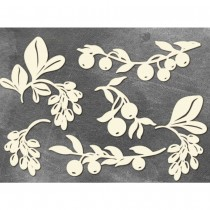 Chipboard - SET TWIGS WITH...