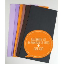 "Foamiran A4 Set - ""Halloween"""