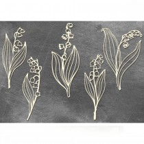 Chipboard - LILY OF THE...