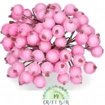 Light Pink Berries - snowy