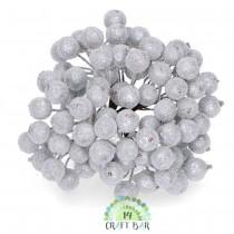 Silver Berries -snowy
