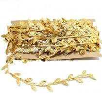 Satin Trimming Ribbon - gold