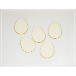 Chipboard - Mini Easter Eggs/5pcs