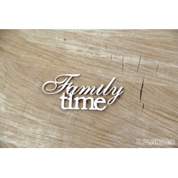 Chipboard - Family Time