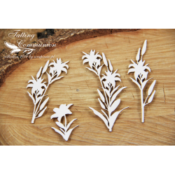 Chipboard - Tatting Communion - Lillys