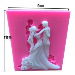 Silicone Mold - Wedding Couple