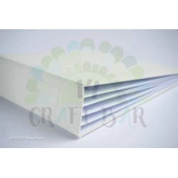 Canvas Album Vertical 15x20 /WHITE