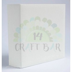 Canvas Album 20x20 /WHITE