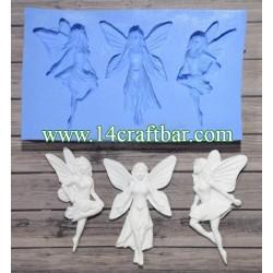 Silicone Mold - Three Fairies