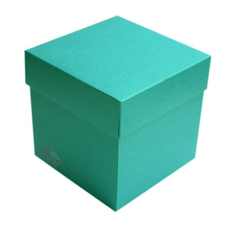 Exploding box -PEARL TURQUISE