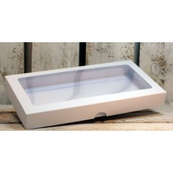 Box  with window for square card - 3 colors