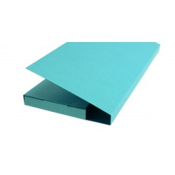 Card Box for Standard Chocolate - TURQUOISE