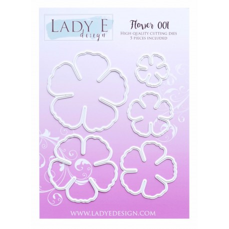 Lady E Design  Dies Flower 001