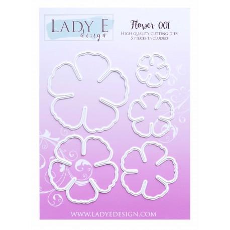 Lady E Design  Dies Flower 001