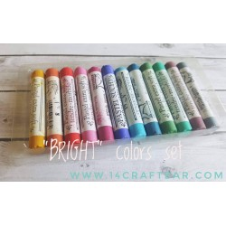 """BRIGHT"" colors set- 12pcs"