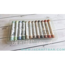 """EARTHTONES"" colors set- 12pcs"