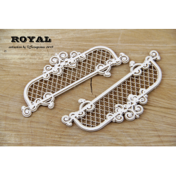 Chipboard - Royal Decors /2pcs