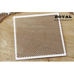 Chipboard- Background Royal ornament