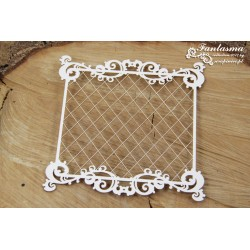 Chipboard-Background /Fantasma Frame with mesh