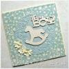 """Chipboard - It's a boy """"B"""""""
