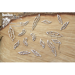 Chipboard- BOHO Feathers