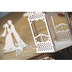 Chipboard - BOHO Wedding Gazebo (3D)