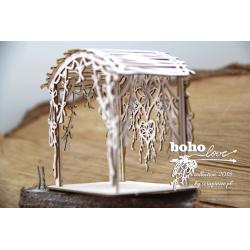 Chipboard - BOHO Wedding Gazebo with Dreamcatcher(3D)