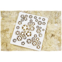 Chipboard -  Background Steampunk