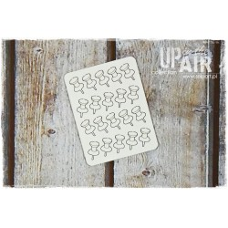 Chipboard - Pushpins/20pcs