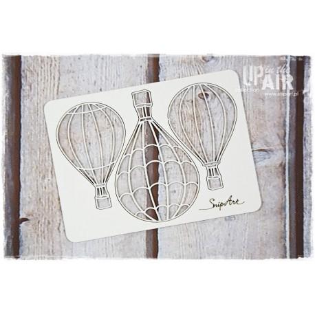 Chipboard -3 Balloons
