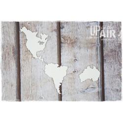Chipboard - CONTINENTS - America, Australia