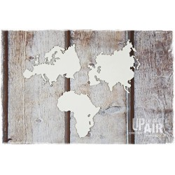 Chipboard - CONTINENTS - Africa, Europe, Asia
