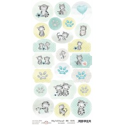 Paper Sheet DIE CUT Elements-My Cat Friend