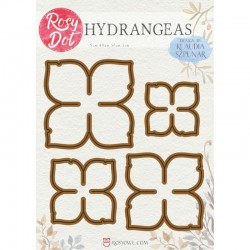 Rosy Dot  Dies Flowers - Hydrangeas