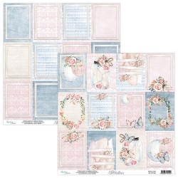 Scrapbooking Paper- Die Cut Sheet -7th Heaven 06