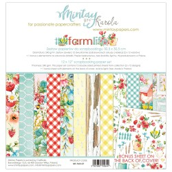 Scrapbooking Papers -FARMLIFE (12x12)