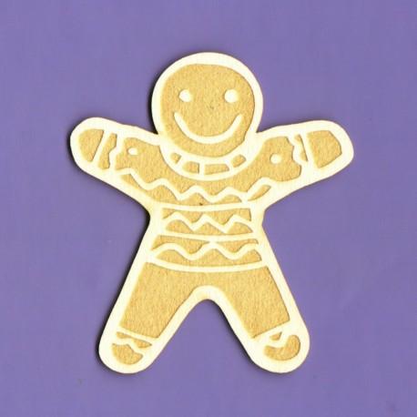 Chipboard - Gingerbread Man