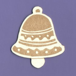 Chipboard - Gingerbread Bell